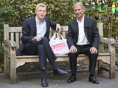 Professor Nick Fox and Malcolm Walker