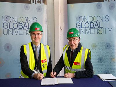 EIB loan signing