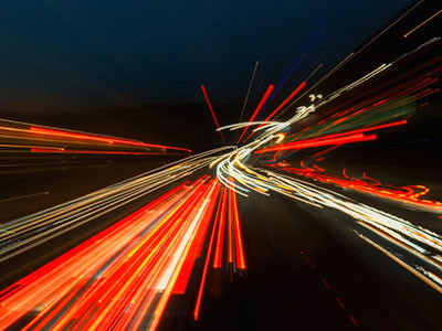 Night traffic (courtesy of Peter Gorges, source Flickr)