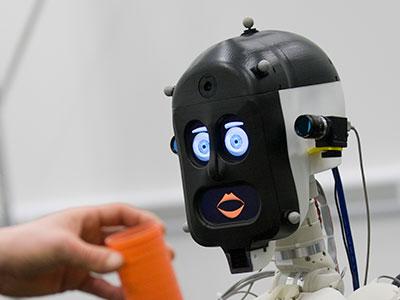 BERT2, a humanoid robot assistant (courtesy of Adriana Hamacher)
