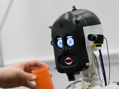 BERT2, a humanoid robot assistant (courtesy of Adriana Hamacher)