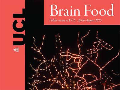 Brain Food events leaflet, Summer 2015