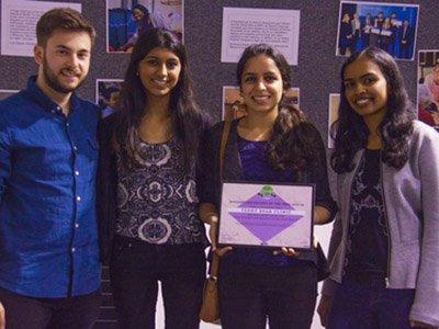 volunteering award recipients 2016