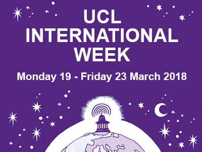 UCL International Week
