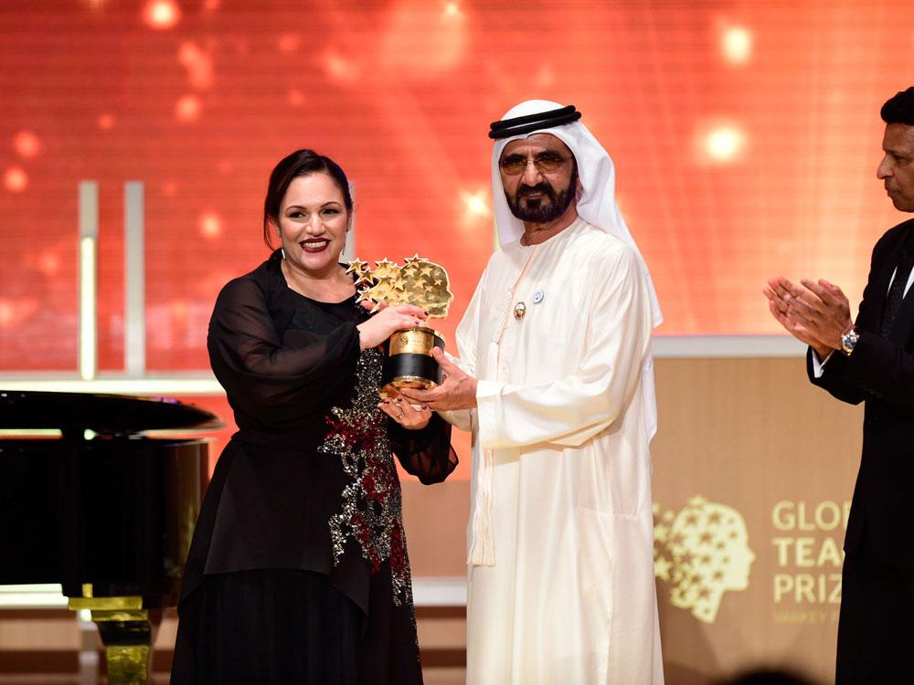 winner global teacher prize 2018