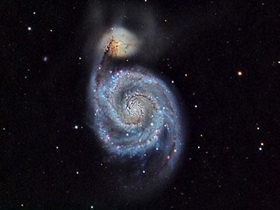 M51 supernova (credit: ULO/UCL Physics & Astronomy)