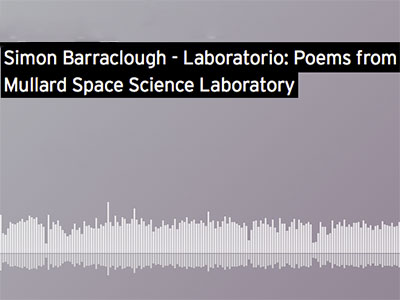 UCL Sound podcast with MSSL poet-in-residence