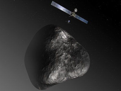 Rosetta: chasing a time-capsule bigger than Mt. Fuji