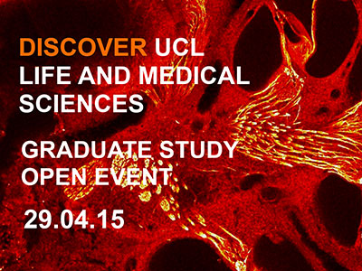 UCL School of Life & Medical Sciences Open Event image