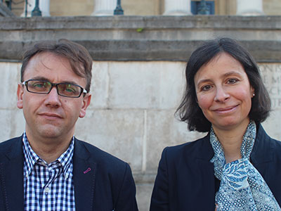 Professor Paola Lettieri and Professor Andrew Hudson-Smith