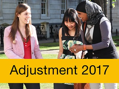 UCAS adjustment image