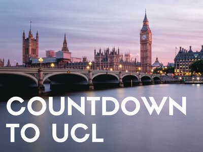 Countdown to UCL promotional image