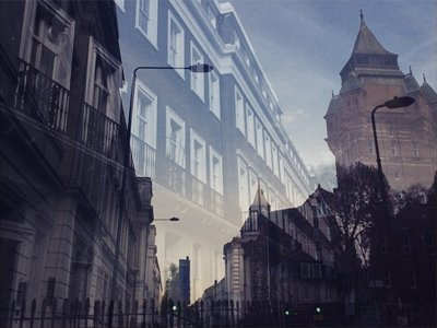 double exposure by by Ellie Bennett, a psychology BSc student