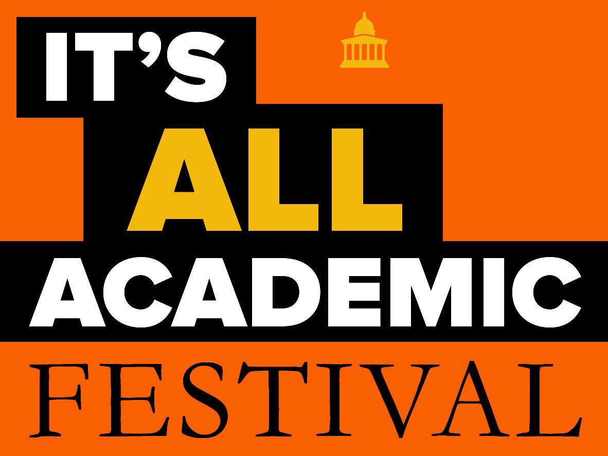 It's All Academic Festival – Saturday 15 September